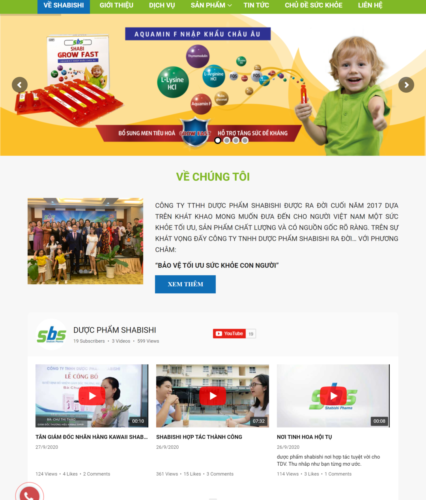 Mẫu dự án website