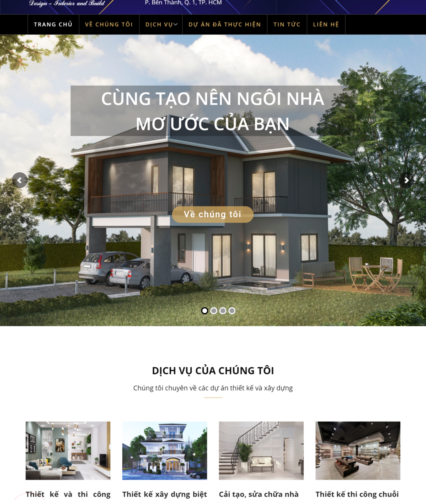 Mẫu website